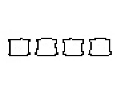2018 PORSCHE PANAMERA 4 E-HYBRID Door Cups