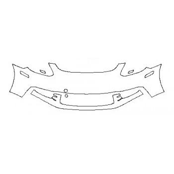 2018 PORSCHE PANAMERA 4 E-HYBRID EXECUTIVE Bumper ( 2 Piece)