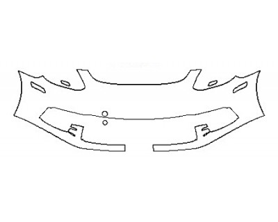 2018 PORSCHE PANAMERA 4S - Bumper ( 1 Piece)