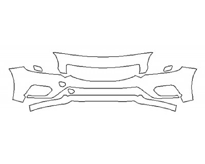 2018 VOLVO S60 DYNAMIC Bumper ( 3 Piece)