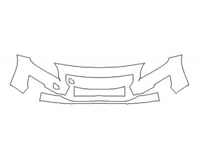 2018 VOLVO S60 INSCRIPTION PLATINUM Bumper ( 3 Piece)