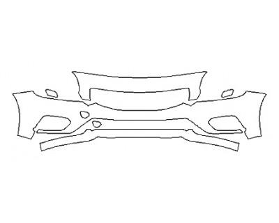 2018 VOLVO S60 R-DESIGN Bumper ( 3 Piece)