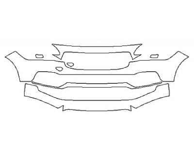 2018 VOLVO S90 T6 MOMENTUM Bumper