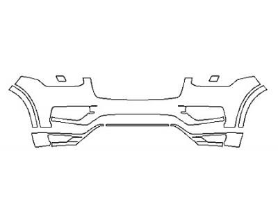 2018 VOLVO XC90 T5 AWD MOMENTUM Bumper