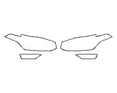 2018 VOLVO XC90 T5 FWD MOMENTUM Headlights Fog Lights