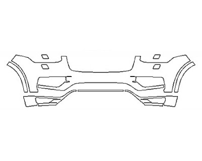 2018 VOLVO XC90 T8 MOMENTUM Bumper With washers