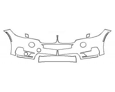 2018 BMW X5 XDRIVE35D LUXURY DESIGN Bumper ( 2 Piece)