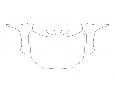 2020 GMC TERRAIN SLT Full Hood Fenders Mirrors