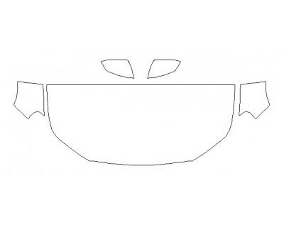2020 GMC TERRAIN SLT Hood(30 Inch) Fenders Mirrors
