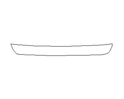 2020 GMC TERRAIN SLT  Rear Bumper Deck