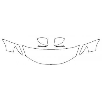 2020 HONDA FIT SPORT Hood(24 Inch) Fenders Mirrors