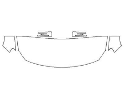 2018 MERCEDES GLA-CLASS SUV GLA250 4MATIC BASE Hood(24 Inch) Fenders Mirrors