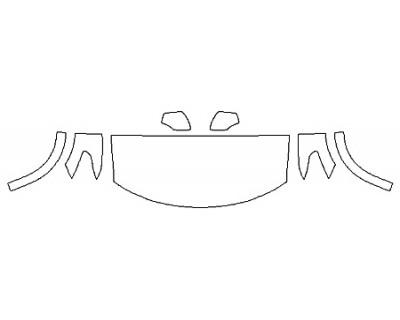 2019 NISSAN ARMADA PLATINUM RESERVE Hood(30 Inch) Fenders Mirrors