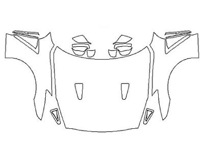 2020 NISSAN GT-R TRACK EDITION Full Hood Fenders Mirrors