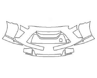 2020 NISSAN GT-R TRACK EDITION Bumper