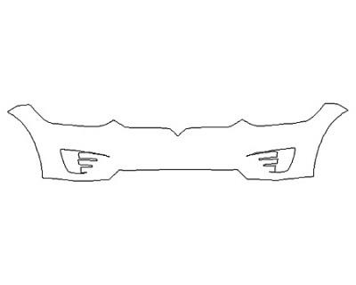 2020 TESLA MODEL X Bumper