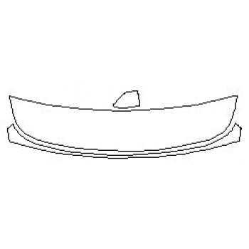 2019 TESLA MODEL X Rear Spoiler Plug In Cap