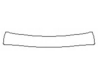 2019 TOYOTA COROLLA SE 6MT Rear Bumper Deck