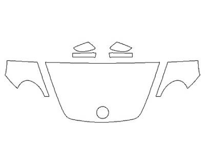 2020 VOLKSWAGEN BEETLE 2.0T S Hood(30 Inch) Fenders Mirrors