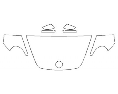 2020 VOLKSWAGEN BEETLE 2.0T SE Hood(30 Inch) Fenders Mirrors