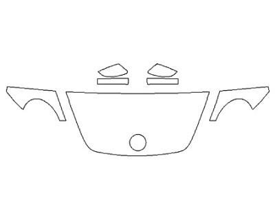 2020 VOLKSWAGEN BEETLE 2.0T SE Hood(24 Inch) Fenders Mirrors