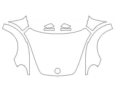 2020 VOLKSWAGEN BEETLE 2.0T SEL Full Hood(Wrapped) Fenders Mirrors