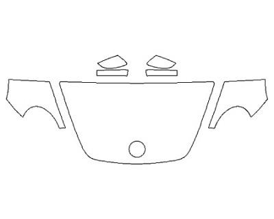 2020 VOLKSWAGEN BEETLE 2.0T SEL Hood(30 InchWrapped Edges) Fenders Mirrors