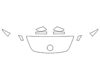 2020 VOLKSWAGEN BEETLE 2.0T SEL Hood(18 InchWrapped Edges) Fenders Mirrors