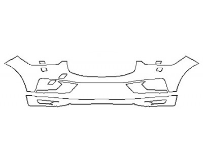 2018 VOLVO XC60 MOMENTUM HYBRID Bumper With Washers