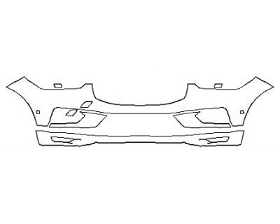 2018 VOLVO XC60 MOMENTUM HYBRID Bumper With Sensors
