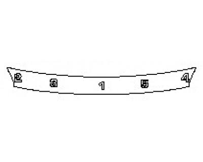 2018 VOLVO XC60 MOMENTUM HYBRID Rear Bumper Deck