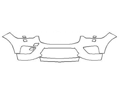 2018 VOLVO XC60 R-DESIGN HYBRID Bumper With Washers