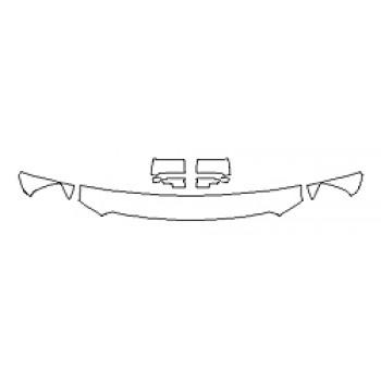2019 GMC SIERRA 2500HD SLE Hood(12 Inch) Fenders Mirrors