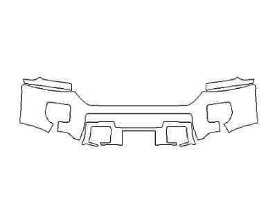 2018 GMC SIERRA 2500HD SLT Bumper