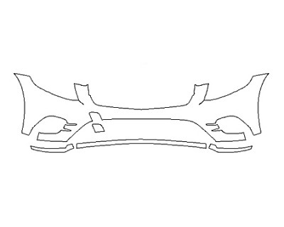 2018 MERCEDES GLC-CLASS COUPE GLC43 AMG Bumper