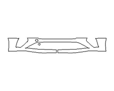 2018 BENTLEY CONTINENTAL GT Bumper