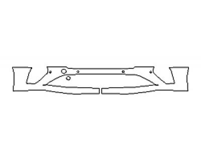 2018 BENTLEY CONTINENTAL GT Bumper With Sensors