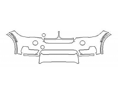 2018 BMW X5 SDRIVE35I LUXURY DESIGN Bumper