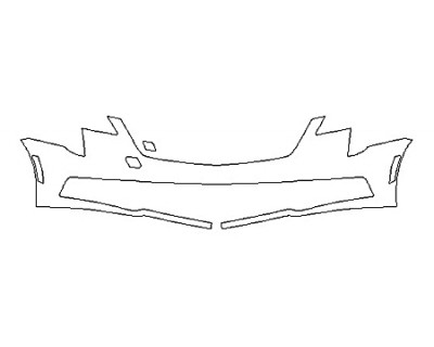2019 CADILLAC XTS V-SPORT PLATINUM Bumper