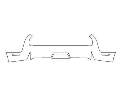 2018 DODGE CHALLENGER GT ALL-WHEEL DRIVE FullRear Bumper