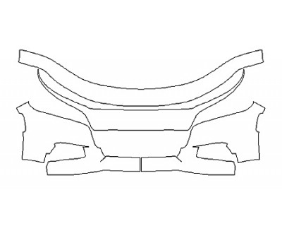 2020 DODGE CHARGER GT Bumper (4 Piece)
