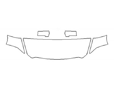 2018 DODGE RAM 1500 HARVEST Hood(24 Inch Wrapped Edges) Fenders Mirrors
