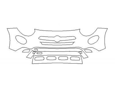 2019 FIAT 500X URBANA EDITION Bumper