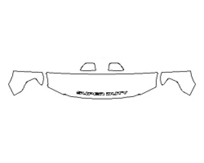 2018 FORD F-250 SUPER DUTY LIMITED Hood(18 Inch Wrapped Edges) Fenders Mirrors