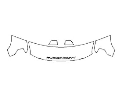 2020 FORD F-350 SUPER DUTY LIMITED Hood(24 Inch) Fenders Mirrors