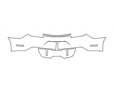 2019 FORD MUSTANG GT FullRear Bumper