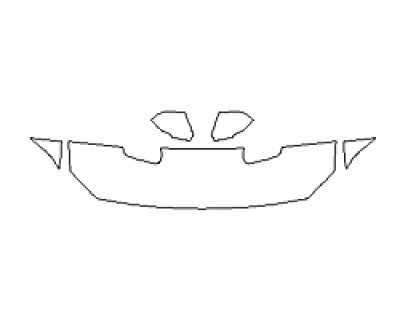 2020 FORD MUSTANG GT PREMIUM Hood(18 Inch) Fenders Mirrors