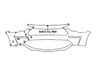 2020 FORD MUSTANG GT PREMIUM Bumper