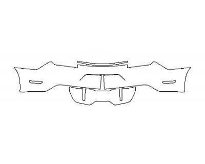 2020 FORD MUSTANG GT PREMIUM FullRear Bumper