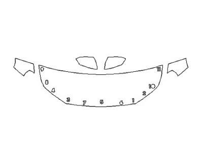 2020 GMC TERRAIN DENALI Hood(24 Inch) Fenders Mirrors